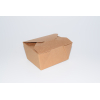 Food lunch paper cup container kraft 198 cl 66 oz. 25 unidades