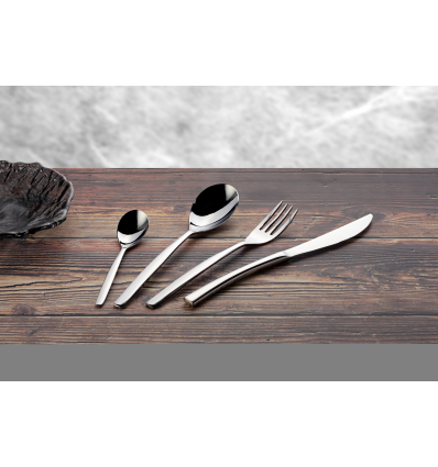 Doce unidades de ROSENHAUS 03010120 Atlas cuchillo steak 23 cm