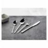 Doce unidades de ROSENHAUS 03090141 Kuadro cuchillo mesa acero inoxidable 18/10 4mm 23.2 cm