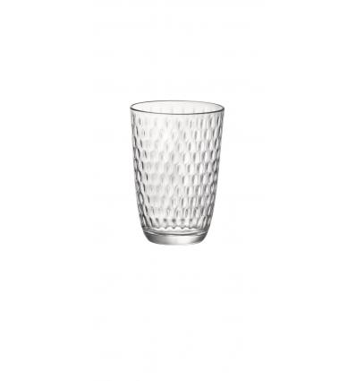 BORMIOLI 580507VNA021990 Vaso long drink transparente 39 cl slot