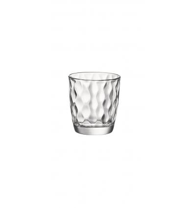 BORMIOLI 580508CAD021990 Vaso bajo transparente 9.2 cm. 30,5 cl. Silk