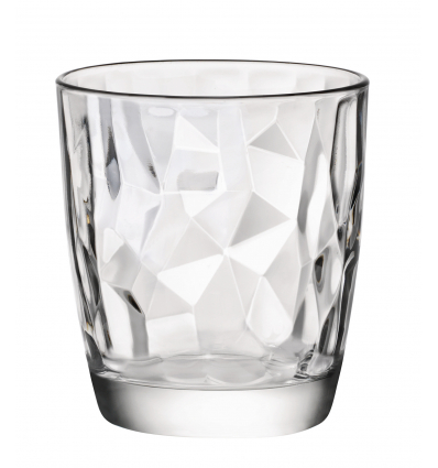 Vaso bajo 38,5 cl diamond