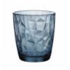 BORMIOLI 350220M02321990 Vaso bajo agua azul 30.5 cl diamond