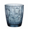 Vaso bajo azul 38.5 cl diamond