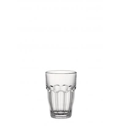 Seis unidades de BORMIOLI 516170BAA121990 Vaso alto transparente 37 cl rock bar long drink
