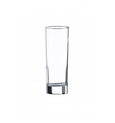 Seis unidades de VICRILA V0161 Vaso tubo 22 cl ¸5.3x15.1 cm aiala