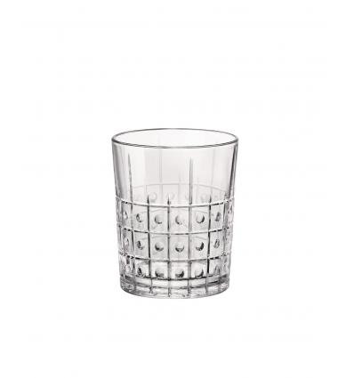 Seis unidades de BORMIOLI 666226BAC121990 Vaso bajo transparente 8.9x10.7 cm. 39 cl. Este
