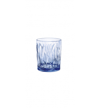 BORMIOLI 580517CAC021990 Vaso bajo azul shapphire 30 cl. Wind