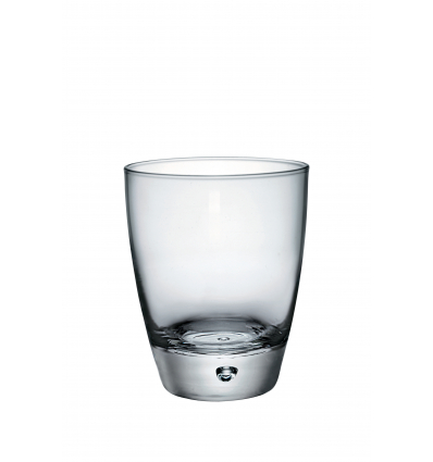 Seis unidades de BORMIOLI 191200M04321990 Vaso transparente bajo 34 cl luna