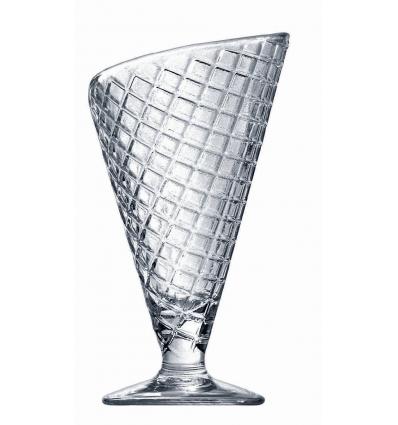 Seis unidades de BORMIOLI 133990MP1321990 Copa helado transparente 28 cl gelato