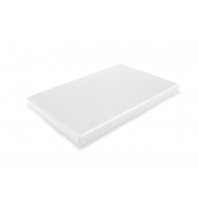 DURPLASTICS S.A. PE5NT40302 Tabla corte polietileno blanco 40x30x2 cm