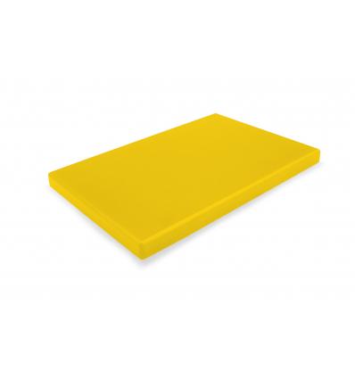 DURPLASTICS S.A. PE5AM40302 Tabla corte polietileno amarillo 40x30x2 cm