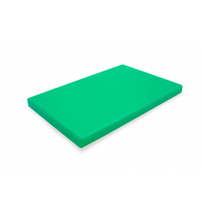 DURPLASTICS S.A. PE5VD60402 Tabla corte polietileno verde 60x40x2 cm