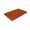 DURPLASTICS S.A. PE5MR60402 Tabla corte polietileno marrón 60x40x2 cm