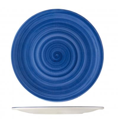 B'GHEST 01170287 Azul plato presentación 31 cm city