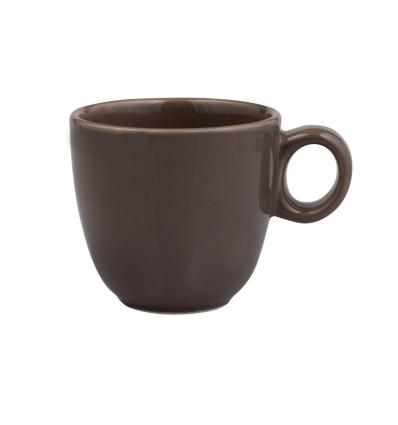 Seis unidades de B'GHEST 01170325 Gris oscuro taza mug 30 cl city