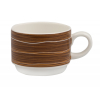 B'GHEST 01170179 Taza cafe 15 cl rope marron alcala