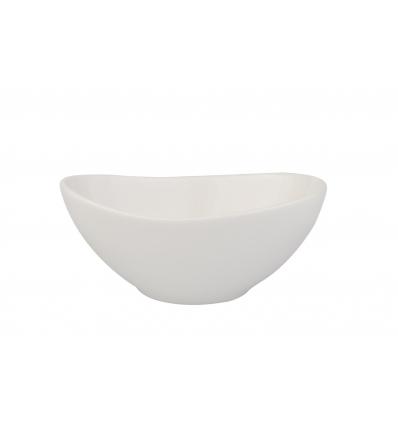 Seis unidades de B'GHEST 01170302 Goby bol blanco 10 cm