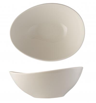 B'GHEST 01170303 Goby bol blanco 22x18 cm