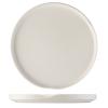Seis unidades de Sushi plato presentación blanco ø28 cm