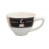 Seis unidades de B'GHEST 01170147 Taza cappuccino conica 14 cl decoracion new york glubel