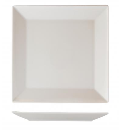 Seis unidades de B'GHEST 01210016 Hotel plato presentación 30x30 cm square
