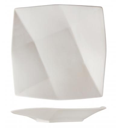 Seis unidades de ROSENHAUS 01010275 Plato diamante 16.5 cm atlantic