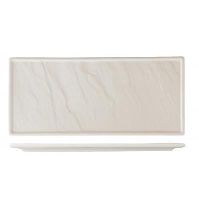 ROSENHAUS 01010387 Bandeja rectangular alargada 30.5x14x1.5 cm atlantic