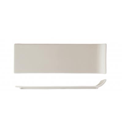 Seis unidades de ROSENHAUS 01010389 Bandeja rectangular borde lateral elevado 30 cm atlantic