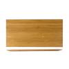 Nueve unidades de ROSENHAUS 01010392 Bajoplato rectangular madera para 01010391 29 cm atlantic