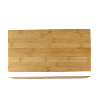 ROSENHAUS 01010393 Bajoplato rectangular madera 33.5 cm atlantic