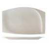 Seis unidades de ROSENHAUS 01010418 Plato rectangular con relieve interior 23 cm atlantic