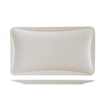 ROSENHAUS 01010437 Plato rectangular con bordes hundidos 30x18x2 cm atlantic
