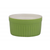ROSENHAUS 01010446 Ramequin redondo estriado verde 8x4 cm atlantic