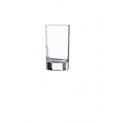 Seis unidades de VICRILA V0157 Vaso bajo 38 cl r 9x9.5 cm aiala