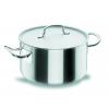 LACOR 50025 Chef classic cacerola alta acero inoxidable con tapa 6.8 l. Ø24x14 cm