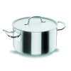 LACOR 50051 Chef classic cacerola alta acero inoxidable con tapa 58.8 l ø50x30 cm