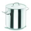 LACOR 50124 Chef classic olla recta acero inoxidable con tapa 11 l. Ø24x24 cm
