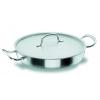 LACOR 50628 Chef classic paellera acero inoxidable con tapa 3.6 l. Ø28x6 cm