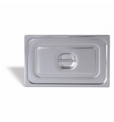 Seis unidades de PUJADAS P191001 Cubeta GN 1/9 profundidad 10 cm inox 18/10 0.8 l.