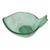 Puffere bol pez verde transparente 11x8 cm
