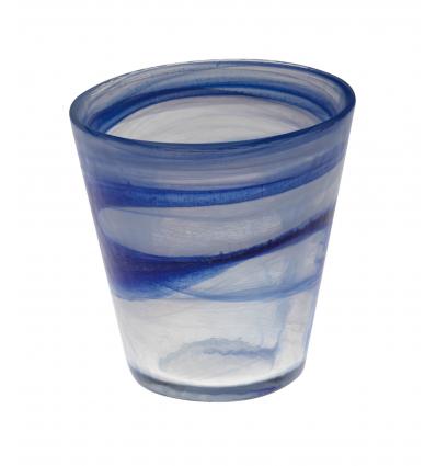 Atlas vaso transparente alabaster azul claro 25cl ø8.5cm