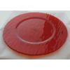 Ramos bajoplato redondo naranja transparente ø33 cm