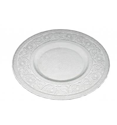 Coronet plato presentación cristal transparente 33 cm