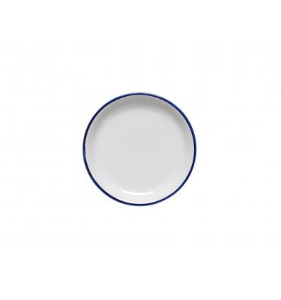 """Xuquer plato llano filo rustik decoración """"hoalve"""" ø25cm"""