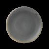 Seis unidades de CHURCHILL EVOGPC221 Granite plato coupe redondo 22.9 cm. Evo