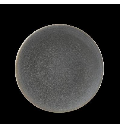 Seis unidades de CHURCHILL EVOGPC201 Granite plato coupe redondo 20.5 cm. Evo