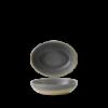 Seis unidades de CHURCHILL EVOGDO211 Granite bowl hondo oval. 21.6x16.4 cm. Evo