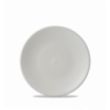 Seis unidades de CHURCHILL EVOPPC161 Pearl plato coupe redondo 16.2 cm. Evo
