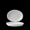 Seis unidades de CHURCHILL EVOPDO261 Pearl bowl hondo oval. 26.7x19.7 cm. Evo